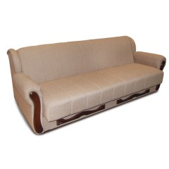 Kavč ORION lino 03 rjav enobarvni