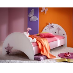 Otroška soba FAIRY 299409 - postelja 90x200 cm