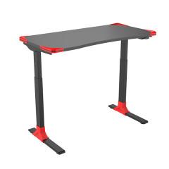 Office desk DEREK black + red