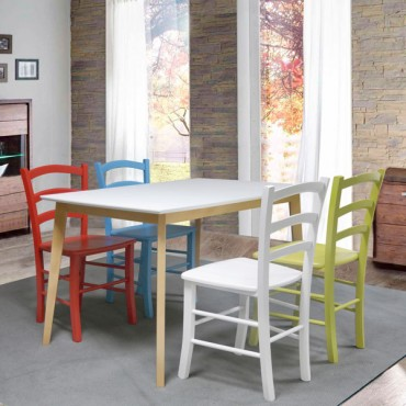 asztal COOL 80x80cm
