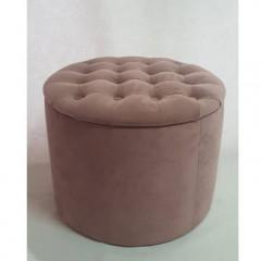 Pouf SYLVIA antik pink
