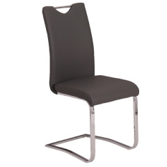 Chair LATIVA PU black