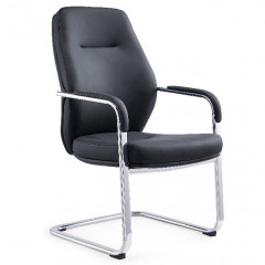Visitor chair ZAKARY black