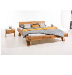 Bed LINDA oak 180