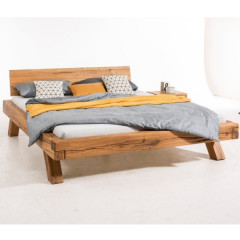 Bed LINDA oak 180