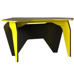Computer table PIAR 1 black + lime green