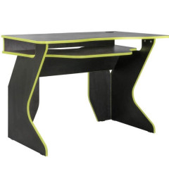 Computer table PIAR 1 black + lime green