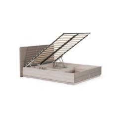 Bed NALA/ELLEN 160 light brown
