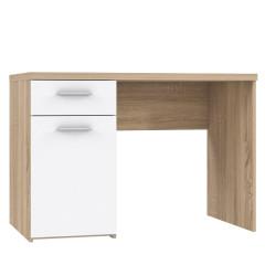 Computer desk WINNIE sonoma oak + white