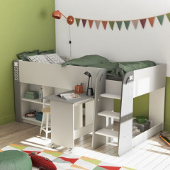 Combined bed with desk HAMPTON 435070