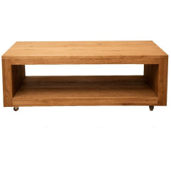 Coffee table KATE oak brown