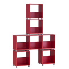 Cube cabinet RED BIG