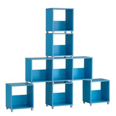 Cube cabinet BLUE