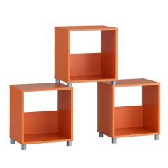 Cube cabinet ORANGE MEDIUM