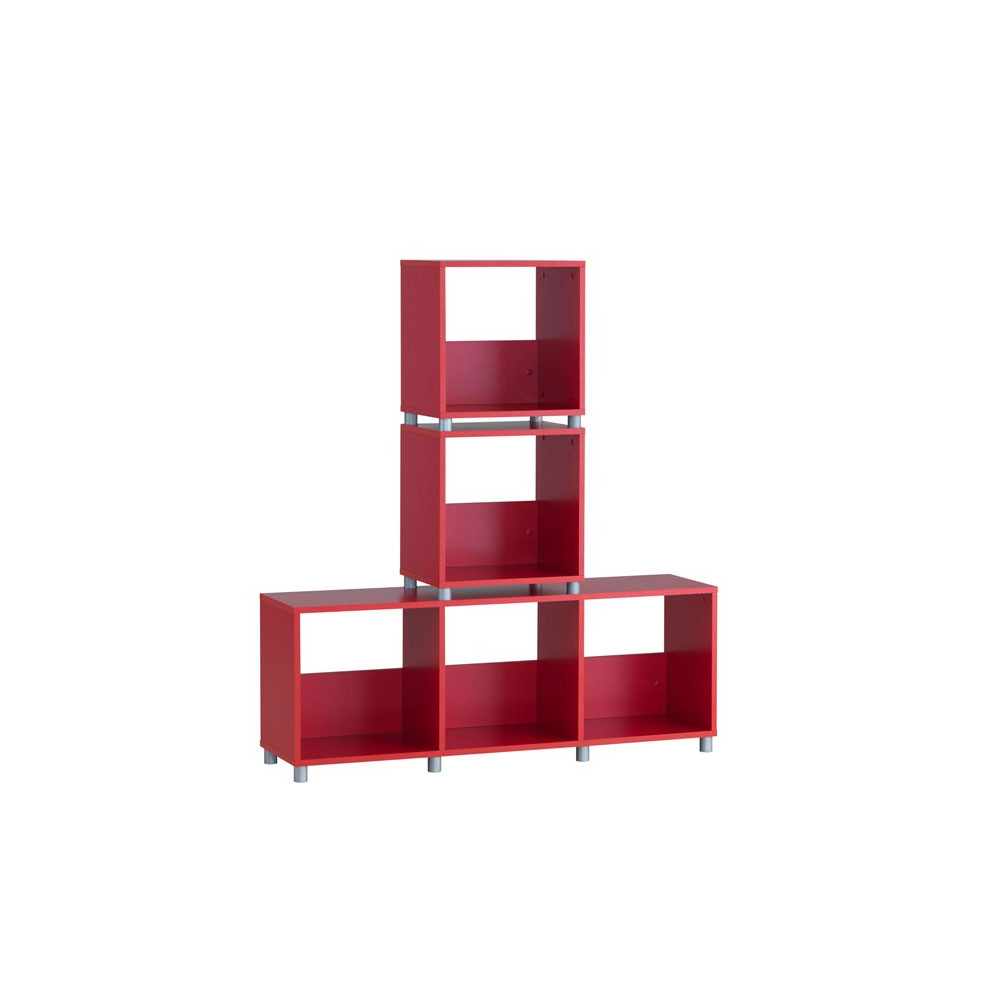 Cube cabinet RED SMALL